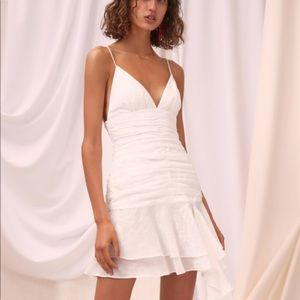White C/MEO Collective dress